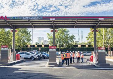 Station TotalEnergies GNV Gennevilliers