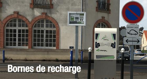 Bornes de recharge