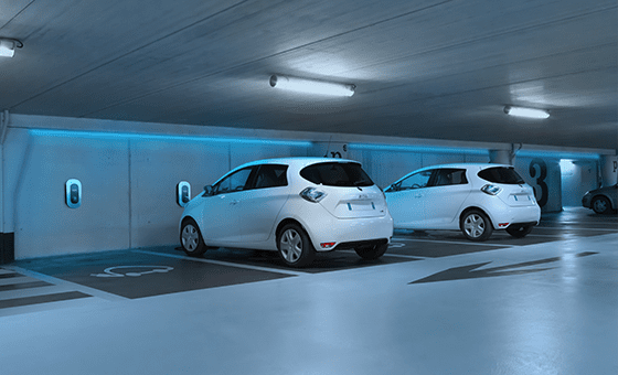 Parking electrique