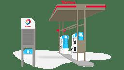 Station TOTAL hydrogène